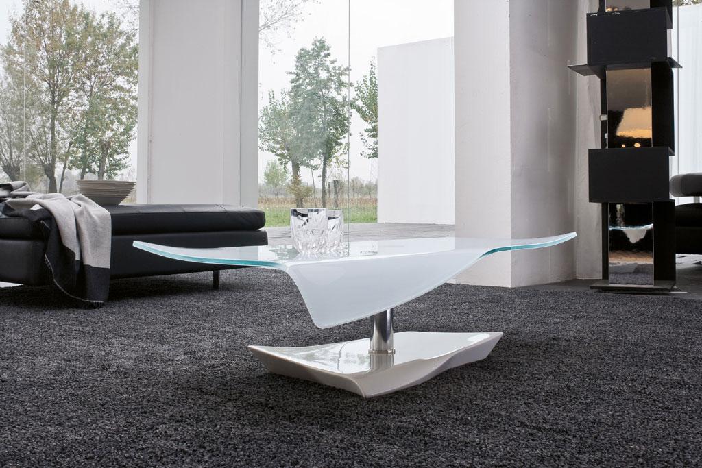 tavolino salotto rotondo cristallo arvo bonaldo: tavolini da ... - Tavolino Salotto Piano Vetro Palestrina